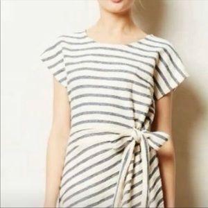 Loft Striped Terrycloth Dress